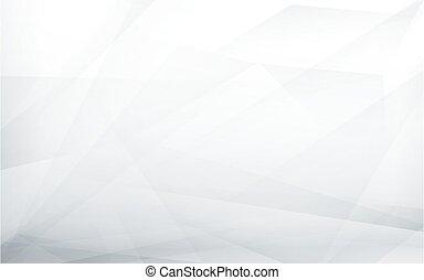 gris, blanco, vector, ilustración, resumen, fondo., futurista