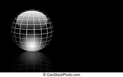 gris, esfera