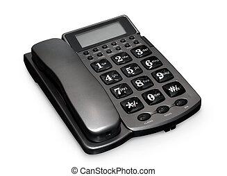 gris, teléfono