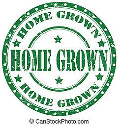 grown-stamp, hogar