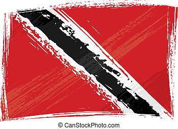 Grunge Trinidad y la bandera de Tobago