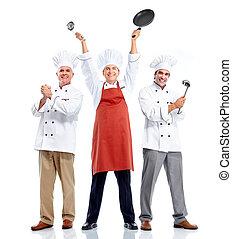 Grupo Chef. Cocinar.