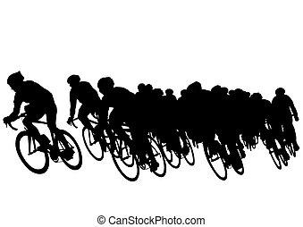 Grupo de bicicleta
