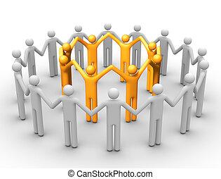 Grupo de gente