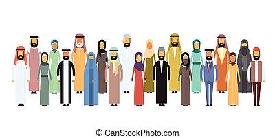 Grupo de negocios árabes, equipo árabe