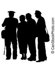 Grupo de personas cuatro