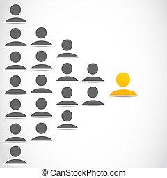 Grupo de personas de redes sociales