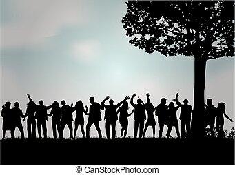 Grupo de personas.