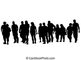 Grupo de personas dos