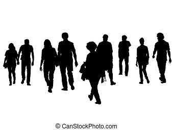 Grupo de personas tres