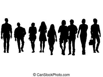 Grupo de personas uno