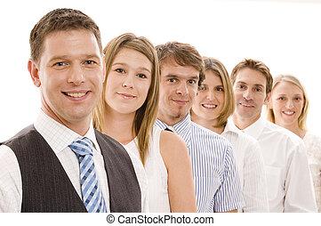grupo, equipo negocio