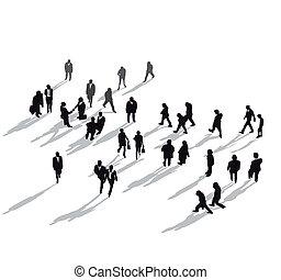 Grupo humano de arriba