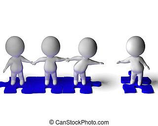 grupo, togetherness, exposiciones, amistad, amigo, unión