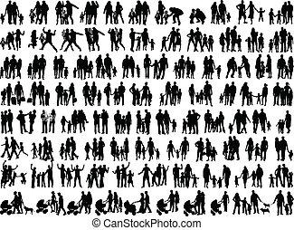 Grupos familiares, vector