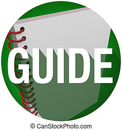 Guía libro de espiral palabra larga sombra instrucciones de círculo manual
