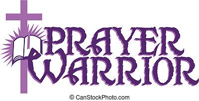 guerrero, oración
