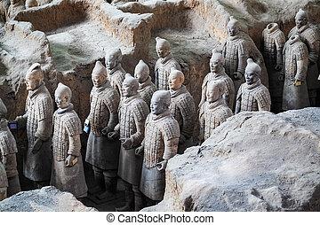 Guerreros de Terracotta de Xian