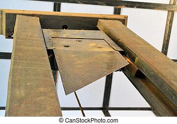 guillotina, ejecución