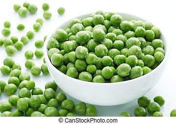 guisantes verdes