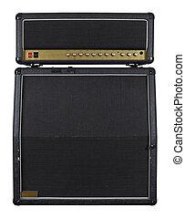 guitarra, amplificador, combo