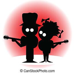 guitarra, dúo