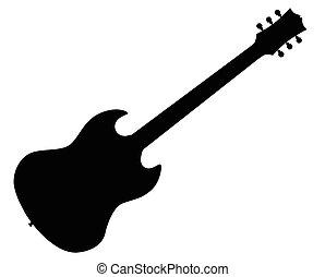 Guitarra eléctrica estándar