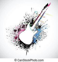 guitarra gruñona