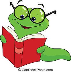 Gusano de libros