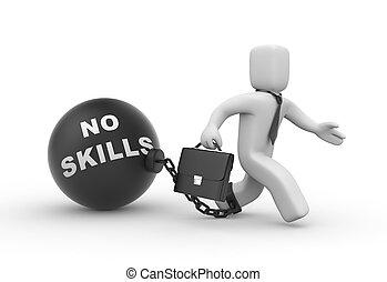 habilidades, no