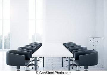 Habitación con mesa y sillas