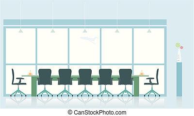 habitación de reunión