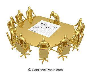 habitación de sesión informativa