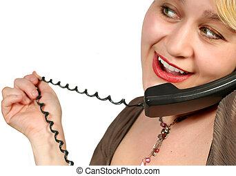 Habla por teléfono