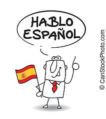 hablar, español