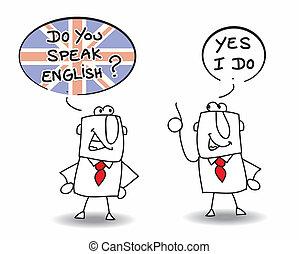 ¿Hablas inglés