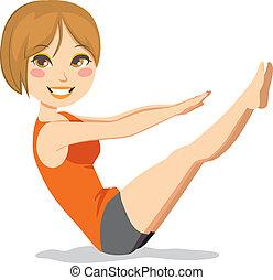 Hace ejercicio