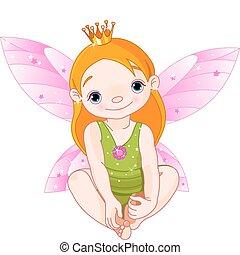 hada, princesa pequeña