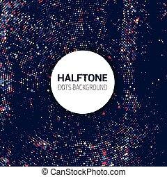 Halftone Dots de fondo 2010