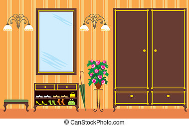 hall de entrada, apartamento