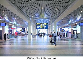 Hall del aeropuerto