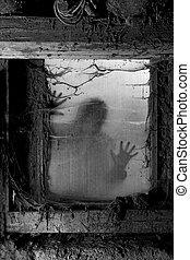 halloween, plano de fondo, asustadizo