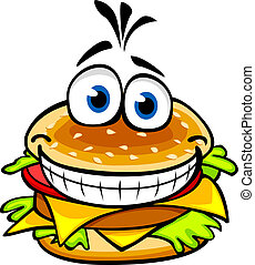 hamburguesa, apetitoso