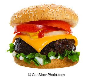 hamburguesa, jugoso