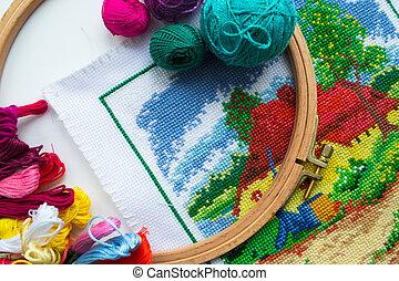 Handicrafts - costura y bordado