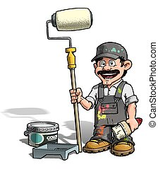 Handyman, pintor