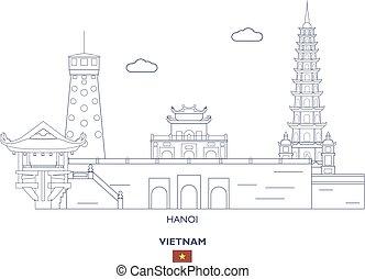 Hanoi City Skyline, Vietnam
