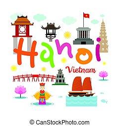 Hanoi vietnam viaje y atracción