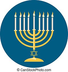 hanukkah, menora, celebración