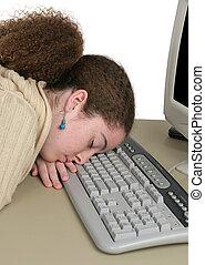 Hasta tarde en línea